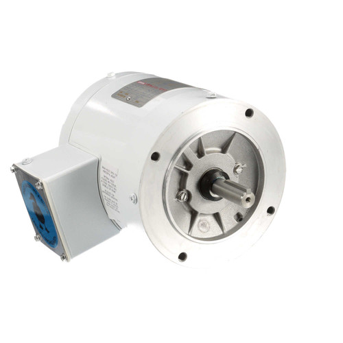 113954.00 Leeson |  1/3 hp 1800 RPM 56C Frame TENV (no base) C-Face 208-230/460V Wash Down Duty
