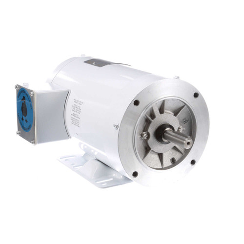 115744.00 Leeson |  3/4 hp 1200 RPM 56HC Frame TENV 208-230/460V Wash Down Duty