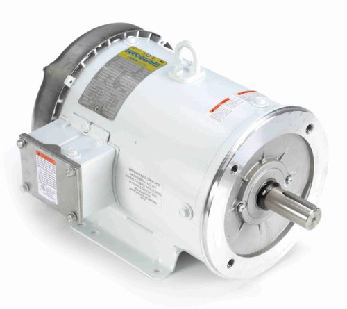 132563.00 Leeson |  1.5 hp 1200 RPM 182TC Frame TEFC 230/460V Wash Down Duty