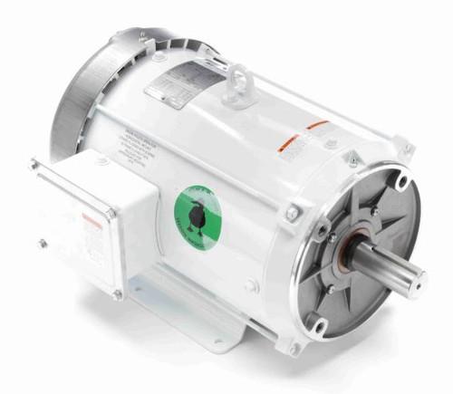 140822.00 Leeson    7.5 hp 1800 RPM 213TC Frame TEFC 230/460V Wash Down Duty