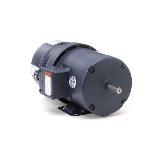 3/4 hp 1800 RPM 56 Frame TEFC  Brake Motor 208-230/460V Leeson Motor # 114147