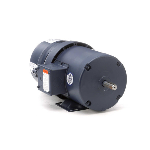 114147.00 Leeson |  3/4 hp 1800 RPM 56 Frame TEFC  Brake Motor 208-230/460V
