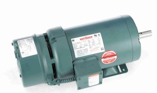 122247.00 Leeson |  2 hp 1800 RPM 145T Frame TEFC Brake Motor 208-230/460V