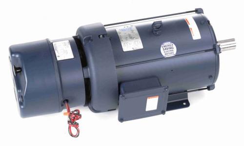 140601.00 Leeson |  3 hp 1200 RPM 213T Frame TEFC Brake Motor 230/460V