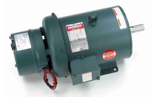 5 hp 1800 RPM 184T Frame TEFC Brake Motor 230/460V Leeson Motor # 132476