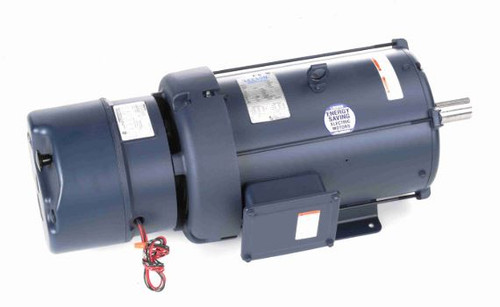 10 hp 1800 RPM 215T Frame TEFC (Rigid Base) Brake Motor 230/460V Leeson Motor # 140636