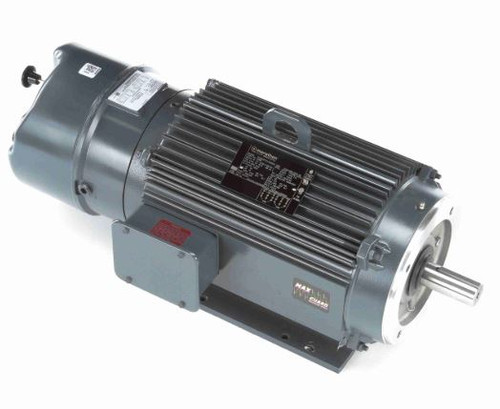 C408 Marathon 10 hp 1800 RPM 215TC Frame TENV C-Face (Rigid Base) Brake Motor 230/460V Marathon Motor