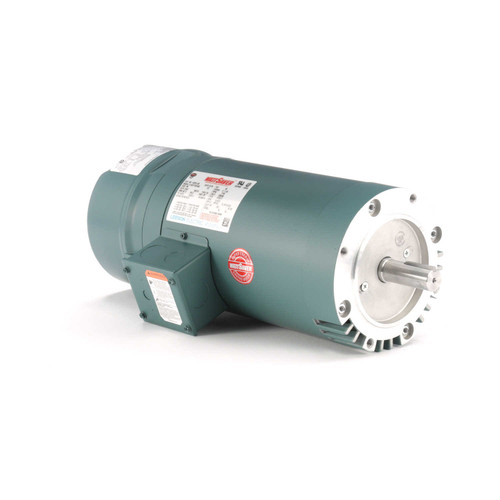 122241.00 Leeson |  2 hp 1800 RPM 145TC Frame ODP C-Face (No Base) Brake Motor 230/460V