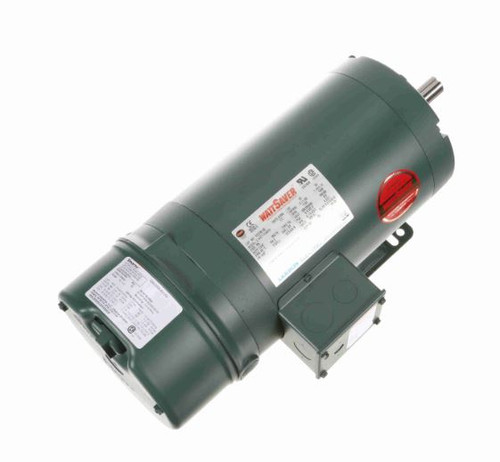 122238.00 Leeson |  2 hp 1800 RPM 145T Frame ODP (Rigid Base) Brake Motor 208-230/460V