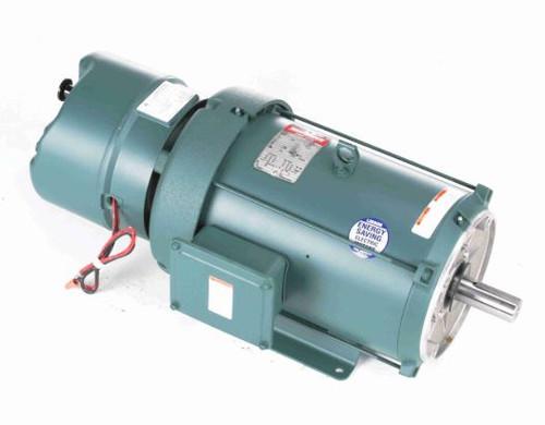 140639.00 Leeson |  10 hp 1760 RPM 215TC Frame TEFC C-Face (Rigid Base) Brake Motor 208-230/460V
