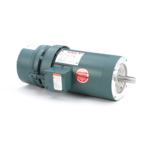 122253.00 Leeson |  2 hp 1800 RPM 145TC Frame TEFC C-Face (No Base) Brake Motor 208-230/460V