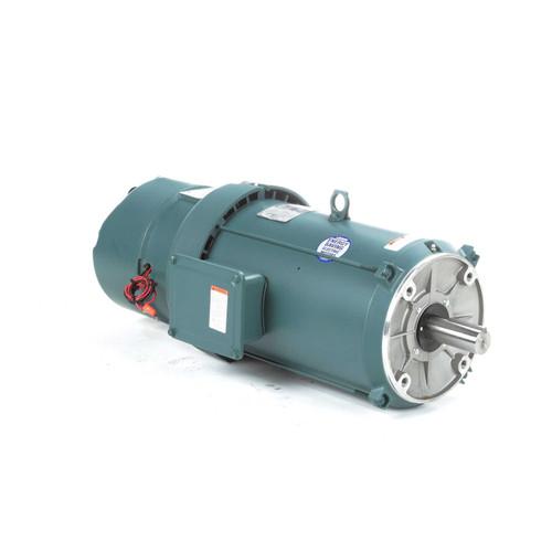 141308.00 Leeson |  7.5 hp 1800 RPM 213TC Frame TEFC C-Face (No Base) Brake Motor 230/460V