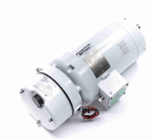 122194.00 Leeson |  1.5 hp 1800 RPM 145TC TEFC Washdown Duty Brake Motor no Base 208-230/460V