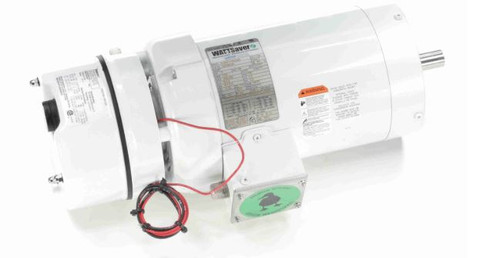122196.00 Leeson |  2 hp 1800 RPM 145TC TEFC Washdown Duty Brake Motor no Base 208-230/460V