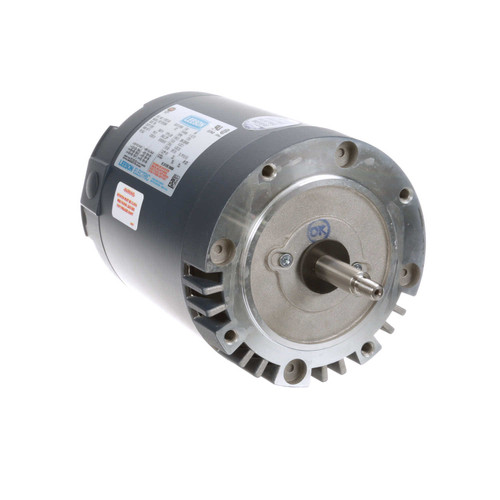 117872.00 Leeson |  1 hp 1800 RPM 56J Frame ODP C-Face (No Base) 208-230/460V