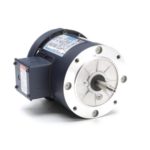 114931.00 Leeson |  1/2 hp 3600 RPM 56J Frame TEFC C-Face (No Base) 208-230/460V