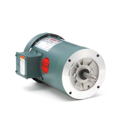 119455.00 Leeson |  2 hp 3600 RPM 56J Frame TEFC C-Face (No Base) 208-230/460V