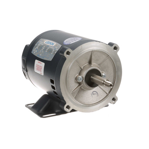 101776.00 Leeson |  3/4 hp 3600 RPM 56J Frame ODP C-Face (Rigid Base) 230/460V