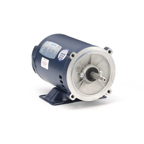 101775.00 Leeson |  1 hp 3600 RPM 56J Frame ODP C-Face (Rigid Base) 230/460V