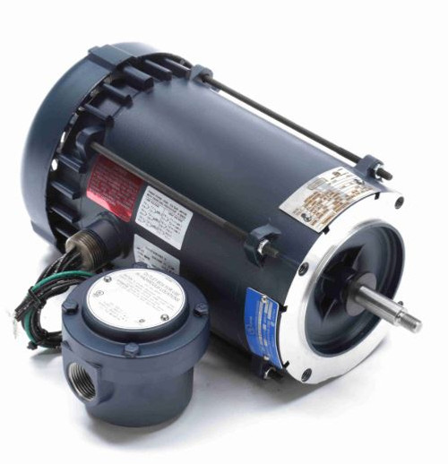 119429.00 Leeson |  1.5 hp 3600 RPM 56J Frame TEFC C-Face (No Base) Expl Proof 208-230/460V