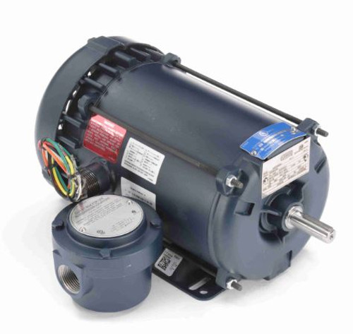 110961.00 Leeson |  1 hp 1725 RPM 56H Frame 115/208-230 Volts Explosion Proof