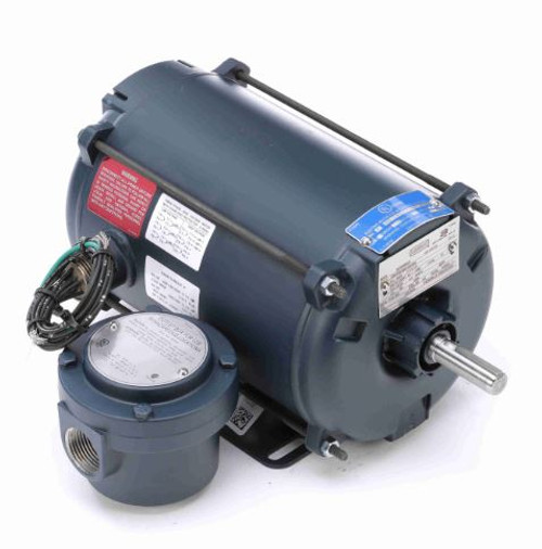 111938.00 Leeson |  1/2 hp 1200 RPM 56H 208-230/460 Volts Explosion Proof
