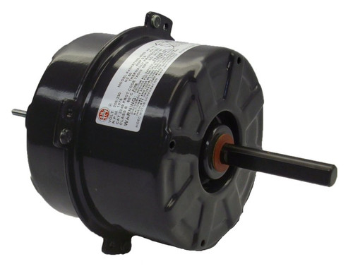 "2246 Nidec | 5"" Condenser Fan Motor 1/5 hp 1075 RPM, 208-230 Volts"