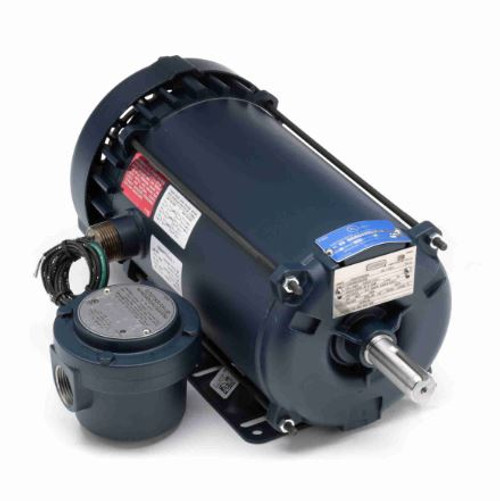 121914.00 Leeson |  1.5 hp 3450 RPM 143T 208-230/460 Volts Explosion Proof