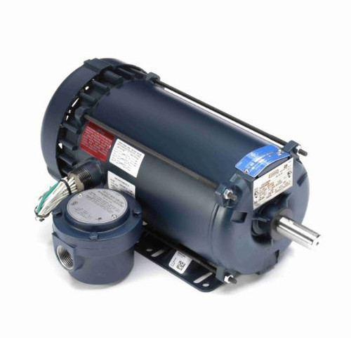 121916.00 Leeson |  2 hp 3600 RPM 145T 230/460V TEFC Explosion Proof
