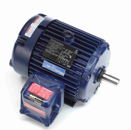 U004A Marathon 3 hp 1800 RPM 182T 230/460V TEFC Explosion Proof Marathon Electric Motor