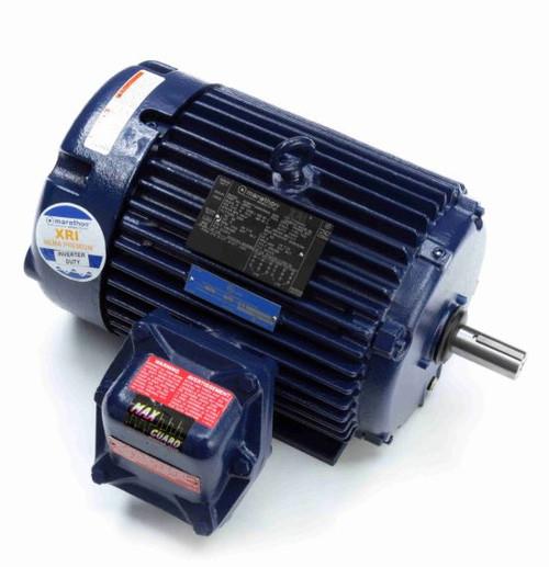 U005A Marathon 5 hp 1800 RPM 184T 230/460V TEFC Explosion Proof Marathon Electric Motor