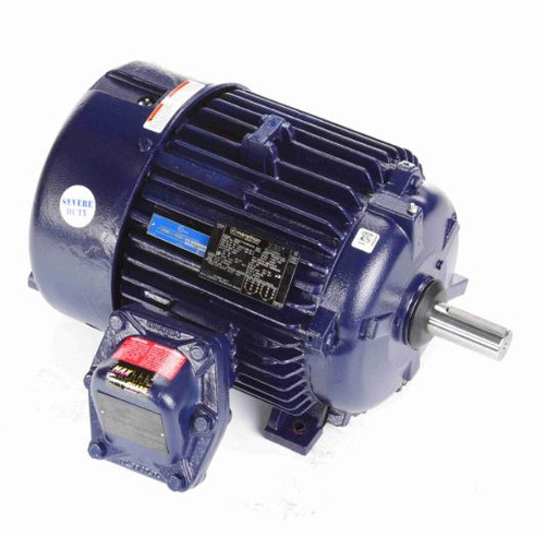 15 hp 1800 RPM 254T 230/460V TEFC Explosion Proof Marathon Electric Motor # E503