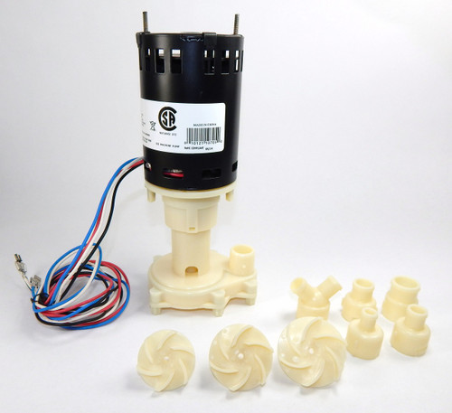 Little Giant Universal Ice Machine Replacement Pump 115/230V RIM-U # BRPAP1