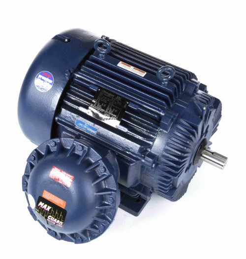 E575 Marathon 75 hp 3600 RPM 365TS 230/460V TEFC Explosion Proof Marathon Electric Motor