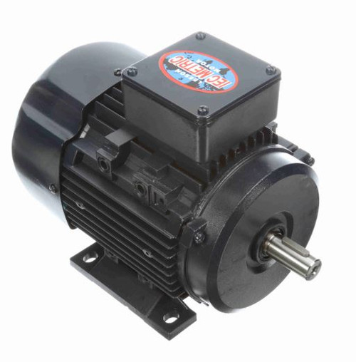 3/4 hp 0.56 kw 1800 RPM 80 Frame 230/460V Leeson Electric Metric Motor # 192041