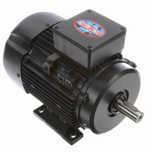 192205.00 Leeson |  2 hp 1.5 kw 1800 RPM 90L Frame 230/460V  Electric Metric Motor
