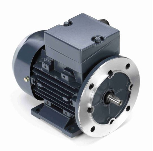 192024.00 Leeson |  1/3 HP .25 kw 3600 RPM 63D Frame 230/460V  Electric Metric Motor
