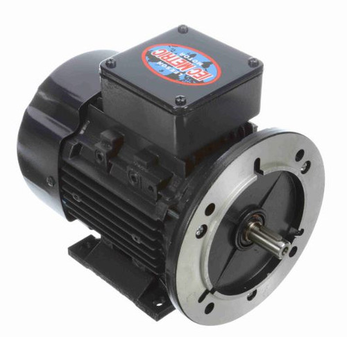 192034.00 Leeson |  1/2 hp 0.37 kw 3600 RPM 71D Frame 230/460V  Electric Metric Motor