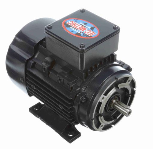 192037.00 Leeson |  1/2 hp 0.37 kw 3600 RPM 71C Frame 230/460V TEFC C-Face  Electric Metric Motor
