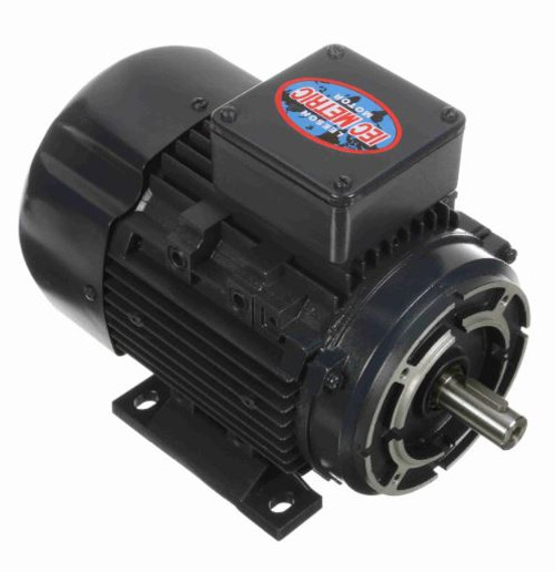 192047.00 Leeson |  3/4 hp 0.56 kw 3600 RPM 71C Frame 230/460V TEFC C-Face  Electric Metric Motor