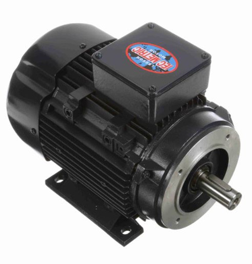 192214.00 Leeson |  3 hp 2.2 kw 3600 RPM D90LC Frame 230/460V TEFC C-Face  Electric Metric Motor