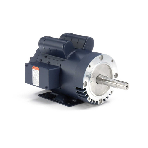 120994.00 Leeson |  1.5 hp 1740 RPM 145JM Frame 115/208-230V ODP  Close Couple Motor
