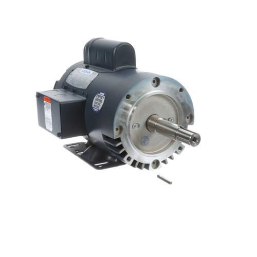 2 hp 3450 RPM 145JM Frame 115/208-230V ODP Leeson Close Couple Motor # 121190