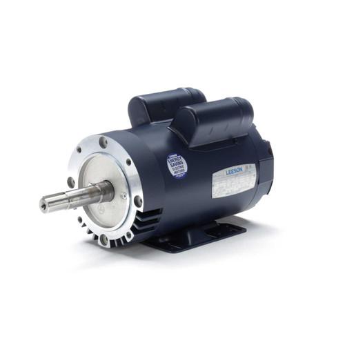 2 hp 1740 RPM 145JM Frame 115/208-230V ODP Leeson Electric Motor # 120995