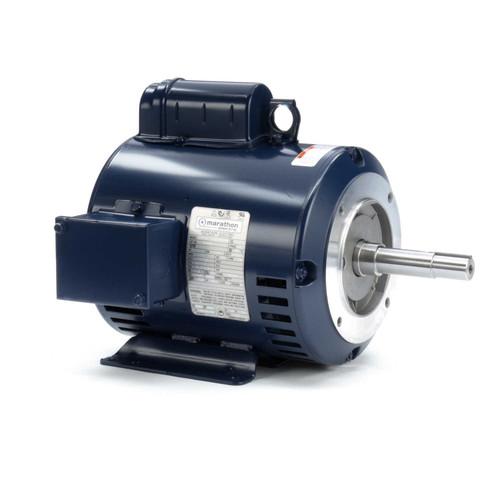 2 hp 1750 RPM 182JM Frame 230V ODP Marathon Close Couple Pump Motor # Z405A
