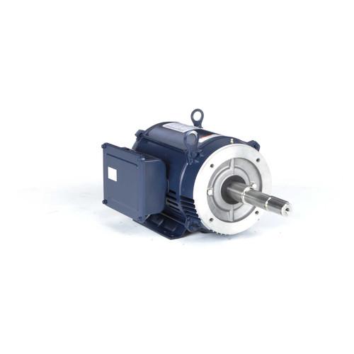 7.5 hp 3450 RPM 213JP Frame 230V ODP Marathon Close Couple Motor # Z429