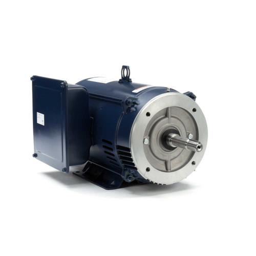 10 hp 1730 RPM 215JM Frame 230V ODP Marathon Close Couple Motor # Z413