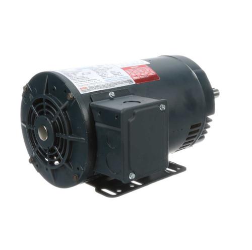 122097.00 Leeson    1.5 hp 1725 RPM 145JP Frame ODP 230/460 Volts