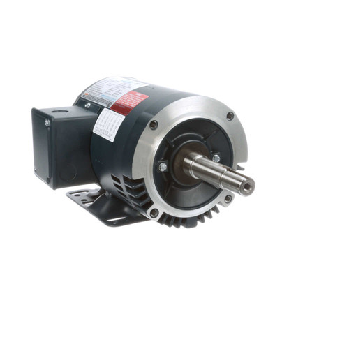 2 hp 3450 RPM 145JM Frame ODP 230/460V Leeson Electric Motor # 122078
