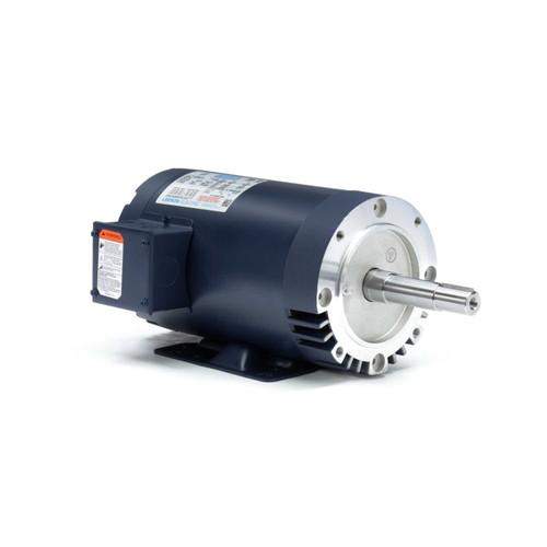 122081.00 Leeson |  3 hp 3450 RPM 145JM Frame ODP 230/460 Volts